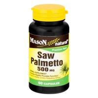 Mason Natural Saw Palmetto 500 MG - 60 CT