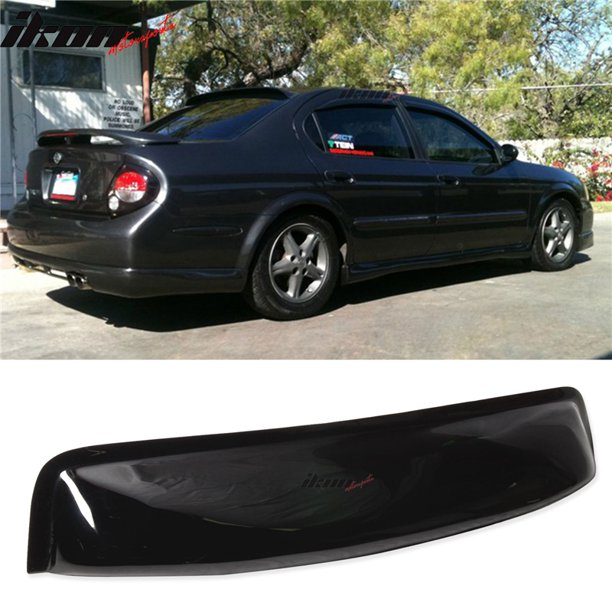 Compatible With 00 03 5th Gen Nissan Maxima A33 Sedan 4dr Oe Style Rear Window Abs Walmart Com Walmart Com