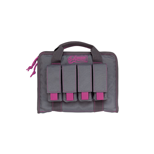 Voodoo Tactical 25-0017 Ladies Pistol Case w/Mag Pouches
