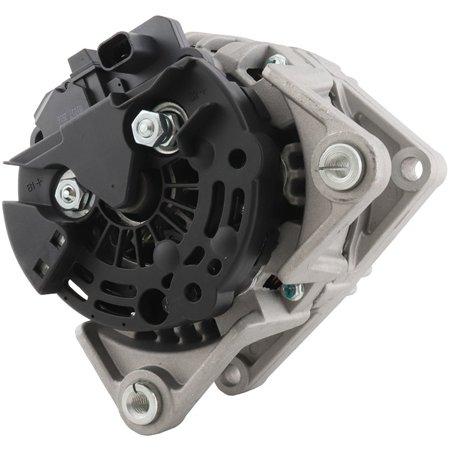 - New Alternator for 1.8L Saturn Astra 08 09 2008 2009 124425060, 93188158, 95515976, 11501,12Clock 120Amp Clutch Pulley Type Internal Regulator CW Rotation 12V
