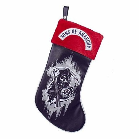 Sons Of Anarchy 19 Applique Stocking Walmart