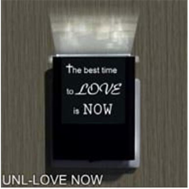 Uniqia UNLG0331 Night Light - Love Now Laser