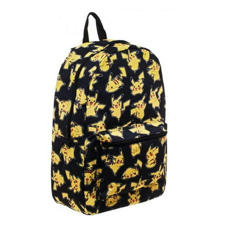 Pikachu Sublimated Backpack