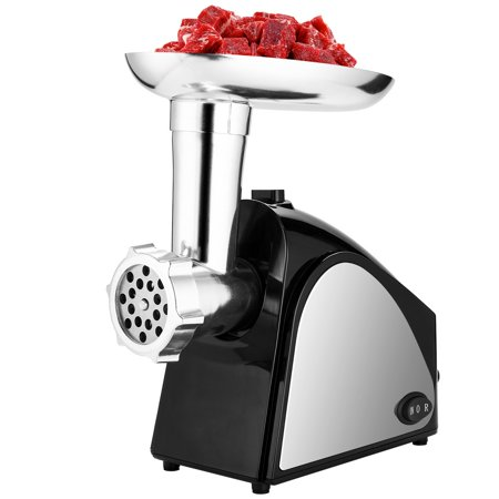 Electric Meat Grinder Chopper 400W Stainless Steel Automatic Minced Machine HFON ()