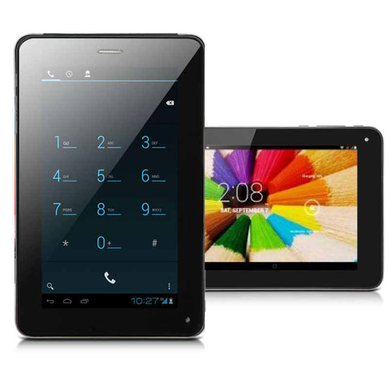 "Indigi® 7.0"" Mega Smartphone Android 4.4 Tablet PC 2-in-1 Phablet Google Play Store (AT"