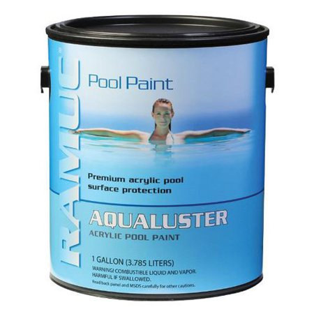 aqualuster acrylic pool coating paint brilliant white 5 gallon pail per pail. Black Bedroom Furniture Sets. Home Design Ideas