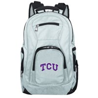 NCAA Texas Christian University Horned Frogs Gray Premium Laptop Backpack