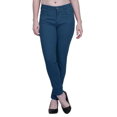 HDE Women's Jeans Jeggings Five Pocket Stretch Denim Basic Slim Fit Skinny