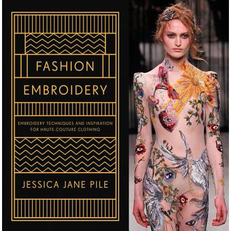 Fashion Embroidery : Embroidery Techniques and Inspiration for Haute-Couture Clothing - Halloween Inspiration Fashion