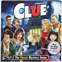 Classic Clue Game, for Kids Ages 8 and Up, for 2-6 Players