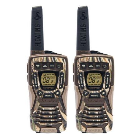 Cobra Floating Realtree Walkie Talkies, Camo
