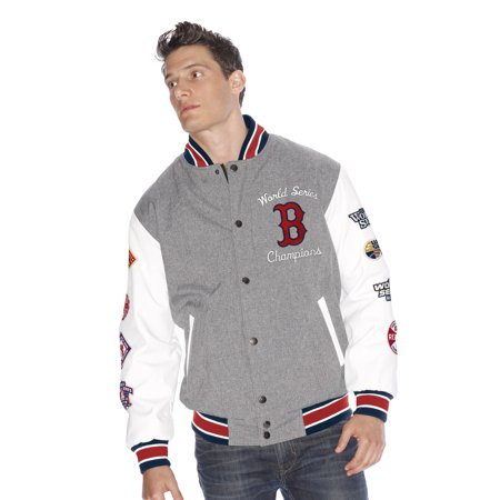 "Boston Red Sox MLB G-III ""Kneel Down"" World Series Commemorative Varsity Jacket by"