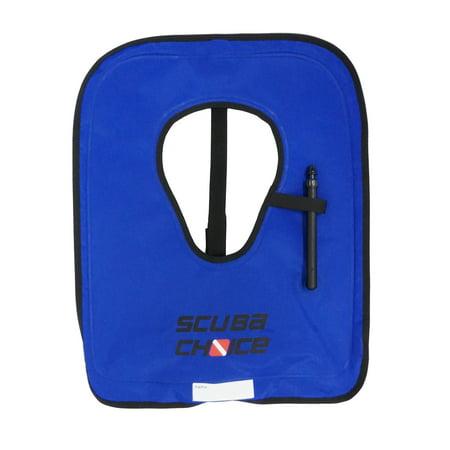 Adult Snorkel Vest (Scuba Choice Adult Royal Blue Snorkel Vest w/ Crotch Strap, Size)