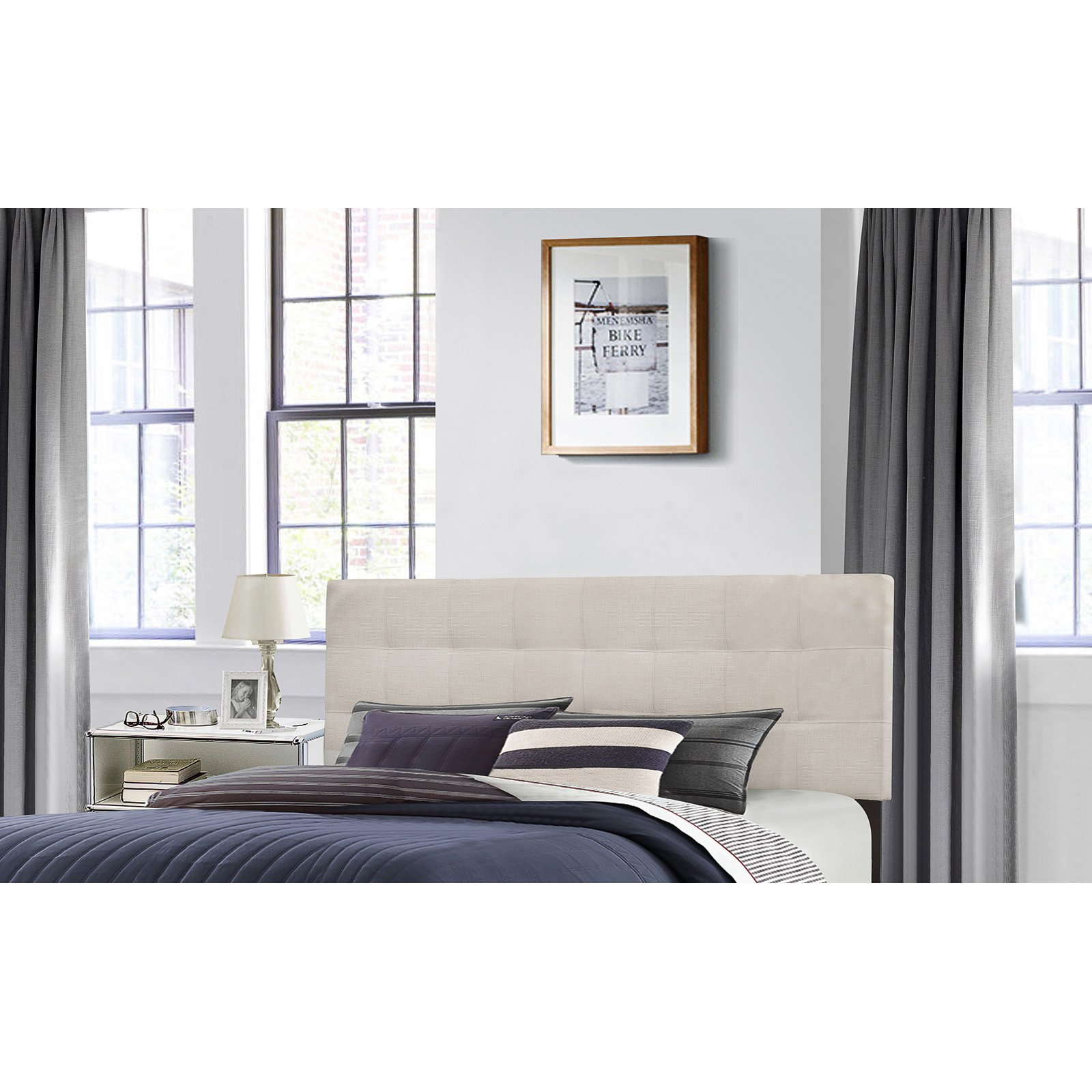 Hillsdale Delaney Upholstered Headboard by Hillsdale