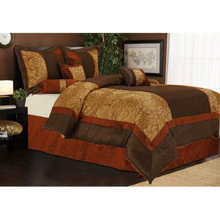 Sybil 7-Piece Bedding Comforter Set