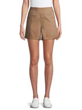 Time and Tru Women's Pull On Short