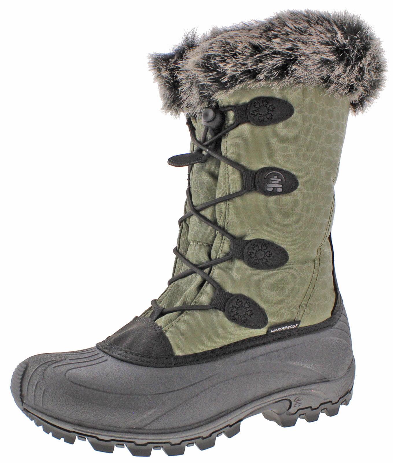 Kamik Momentum Women's Waterproof Nylon Snow Boots by