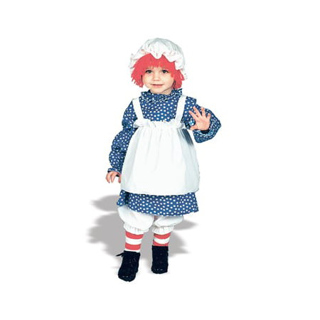 RAGGEDY ANN TODDLER 1 TO 2 - Raggedy Ann Costume Baby