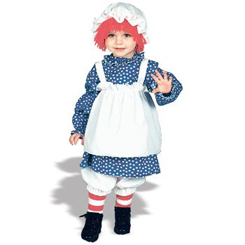Raggedy Ann Halloween Costume For Toddler (RAGGEDY ANN TODDLER 1 TO 2)