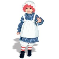 Raggedy Ann Toddler Halloween Costume