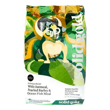 Solid Gold Holistique Blendz Ocean Fish & Oatmeal Senior Dry Dog Food, 28.5 Lb ()