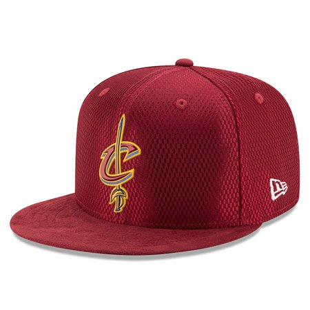 Cleveland Cavaliers New Era 2017 NBA Draft Official On Court Collection 59FIFTY Fitted Hat - Maroon