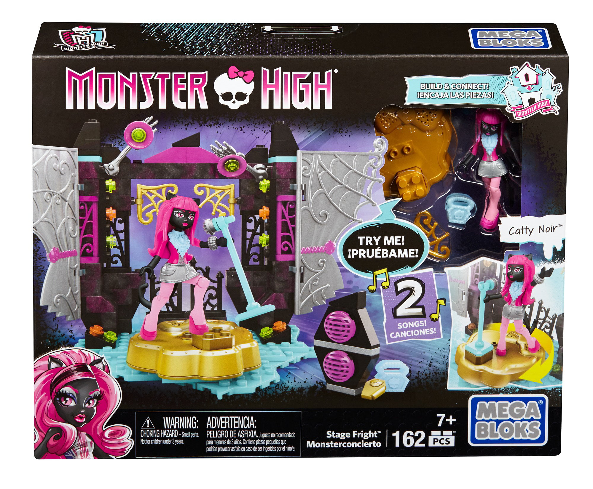 Mega Bloks Monster High Stage Fright Playset by MATTEL INC.