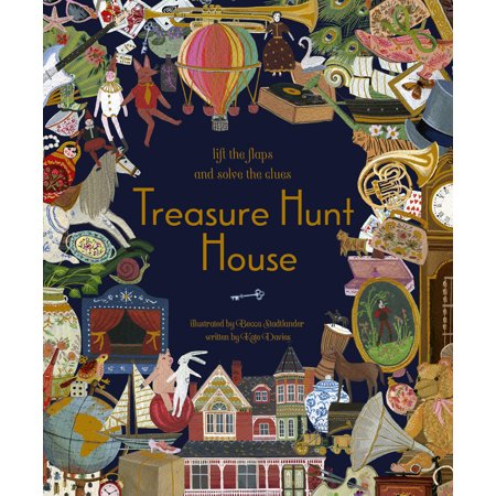 Treasure Hunt House : Lift the Flaps and Solve the Clues...](Clues For A Halloween Treasure Hunt)