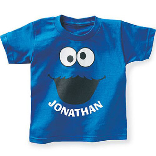 Personalized Sesame Street Kids T-shirt, Cookie Monster