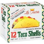 La Tiara Authentic Mexican Taco Shells, 2.75 oz, 12 Count