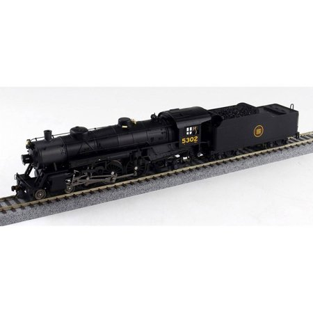 Canadian Pacific Steam Engine - Broadway Limited HO-Scale 4-6-2 Light Pacific Steam Loco Canadian National #5302
