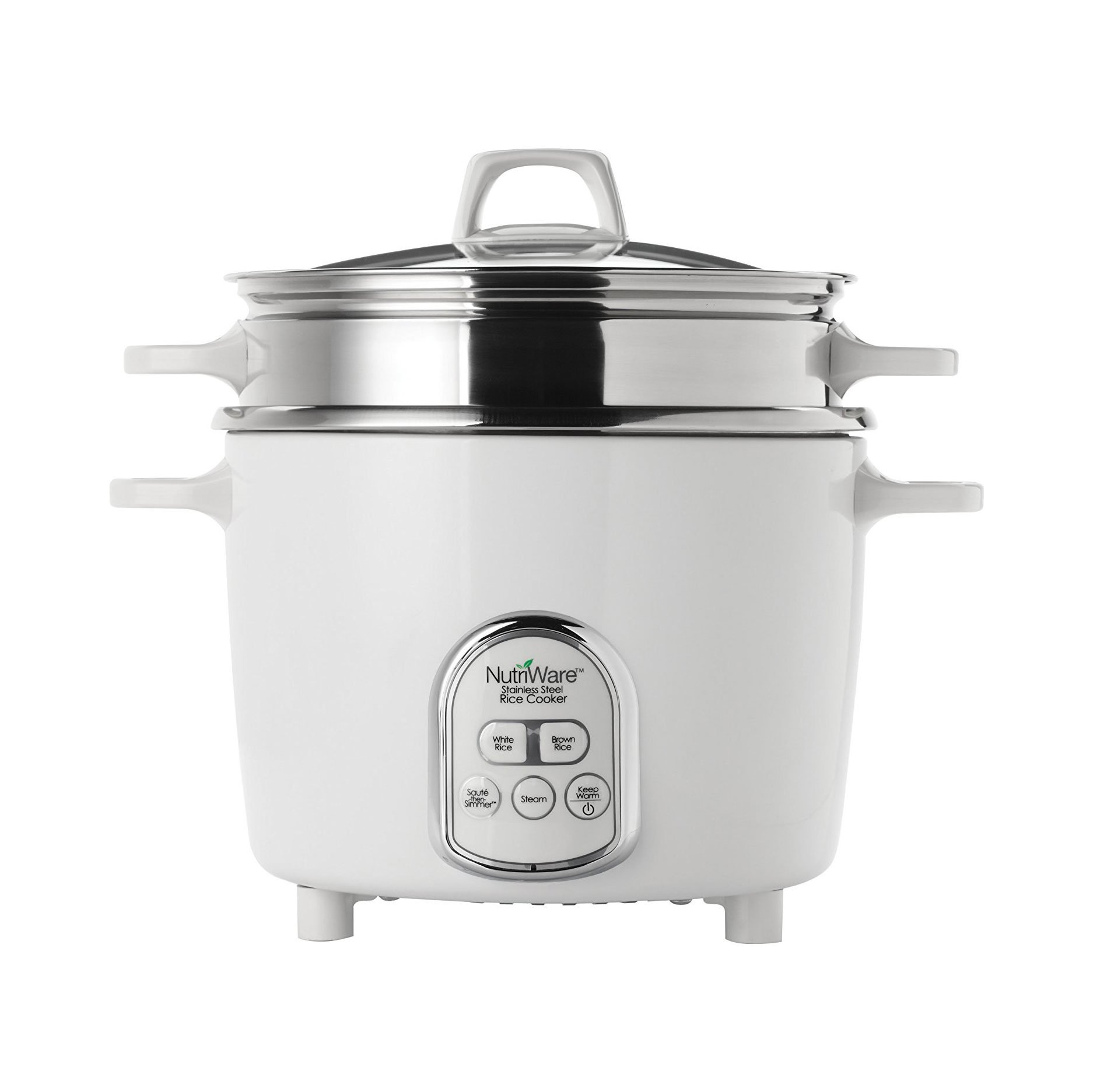 Aroma Nutriware 14 Cup Digital Stainless Steel Rice Cooker And Food