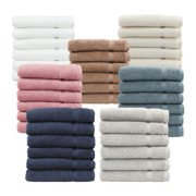 Authentic Hotel and Spa Omni Turkish Cotton Terry Washcloths (Set of 6) Cream
