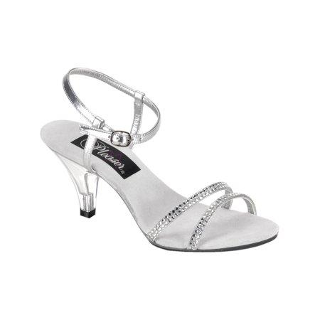 Wedding Shoes 3 Inch Heel | Summitfashions Womens Bridal Shoes 3 Inch Heels Ankle Strap Mini