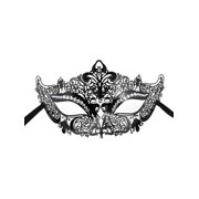 womens sexy metal laser cut mask opera prom party venetian masquerade mask