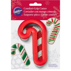 wilton comfort grip 4 cookie cutter candy cane 2310 644 - Christmas Cookie Cutters Walmart