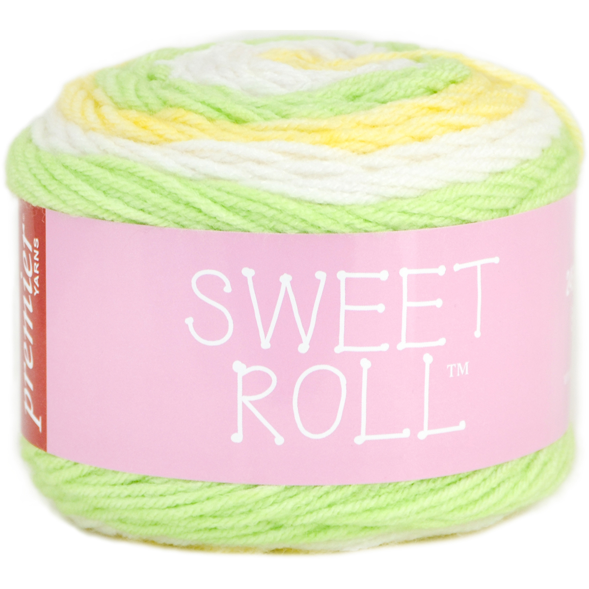 Premier Yarns Sweet Roll Yarn-Melon Pop
