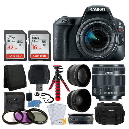 Canon EOS Rebel SL2 DSLR Camera + EF-S 18-55mm IS STM Lens +