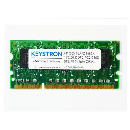 - 512MB 144pin DDR2 x32 Memory DIMM for HP LaserJet Enterprise 600 printer M603 series M603n, M603dn, M603xh