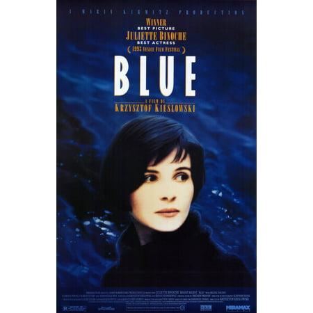 Trois Couleurs: Bleu (1993) 11x17 Movie Poster (Bleu Detroit Halloween)