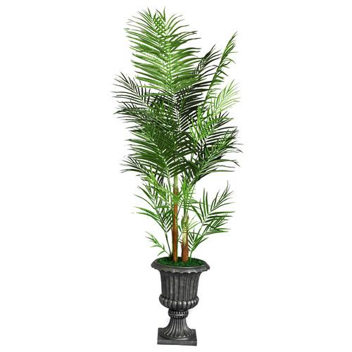 Bloomsbury Market Tall Areca Palm Tree in Urn