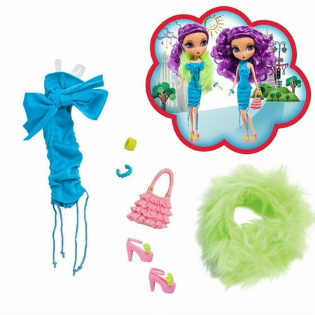 Spinmaster La Dee Da Fashion Doll Clothes Girls Night Out Outfit Transforms (La Dee Da Doll Clothes)