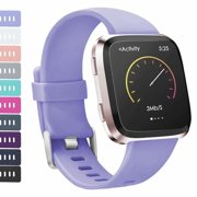 iGK Replacement Bands for Fitbit Versa, Classic Replacement Bands Accessories Wristband Sport Strap