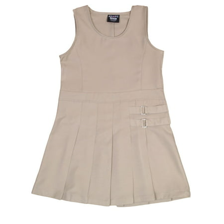 Beverly Hills Polo Club Uniform Pleated Skirt Jumper (Little Girls & Big (Mini Skirt Jumper)