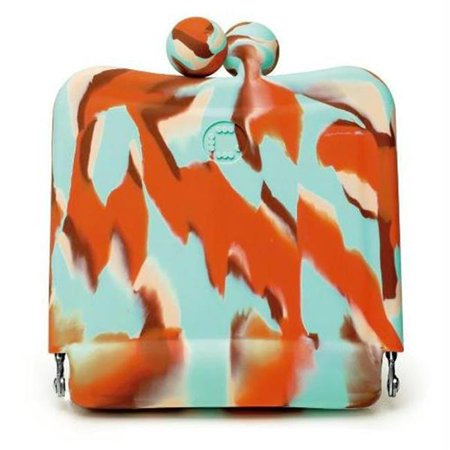 226286 Candy Store Purse Mirror - Spumoni Swirl - Candy Store Nyc
