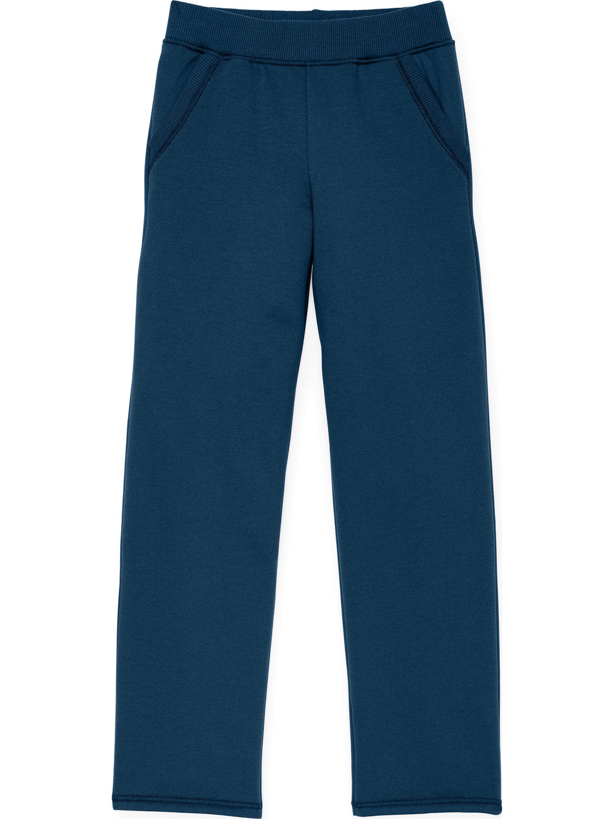 Open Leg Fleece Sweatpant with Pockets (Little Girls & Big Girls)