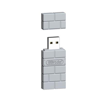 Portable 8Bitdo USB Wireless Bluetooth Adapter Gamepad Receiver ()