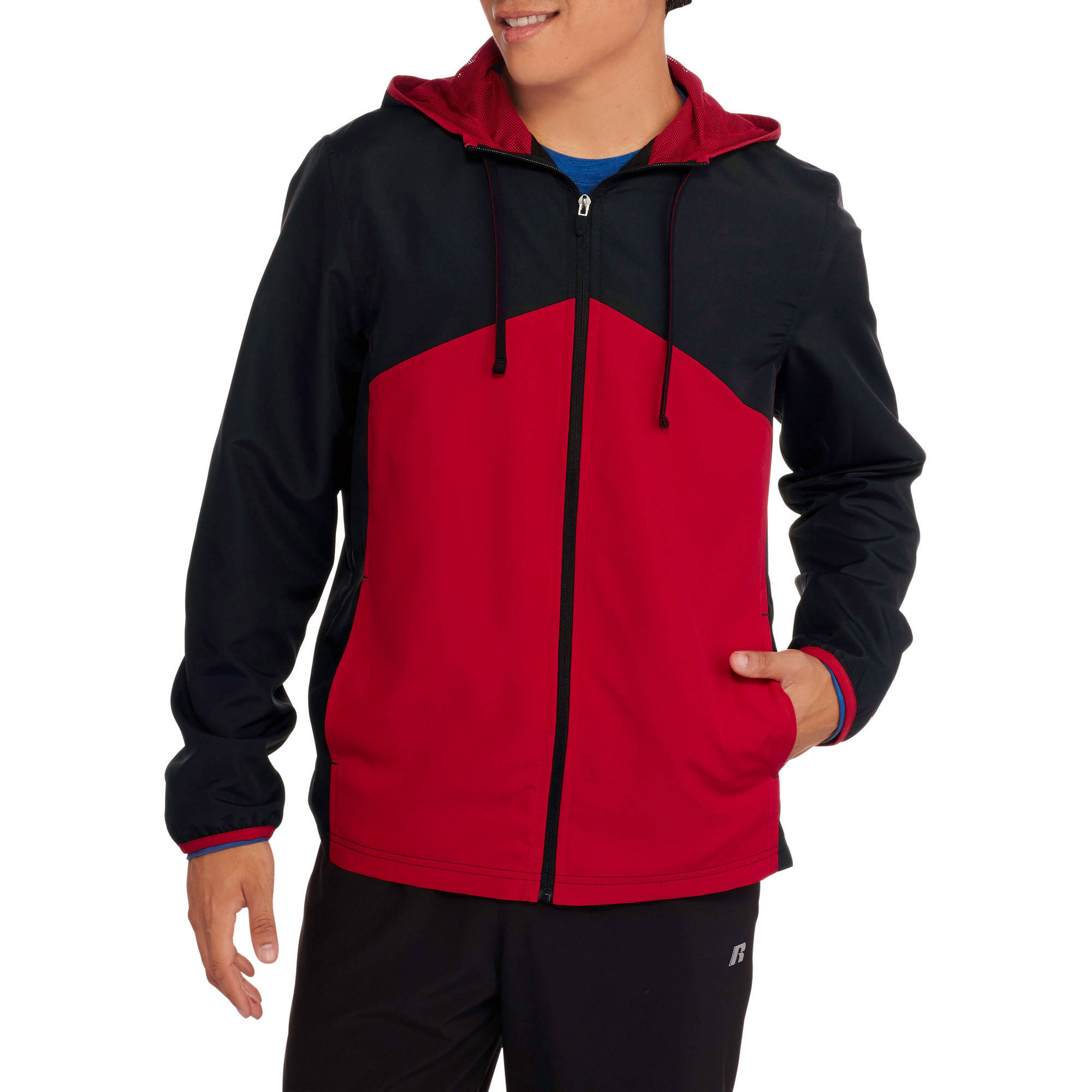 Starter Big Men's Woven Track Jacket