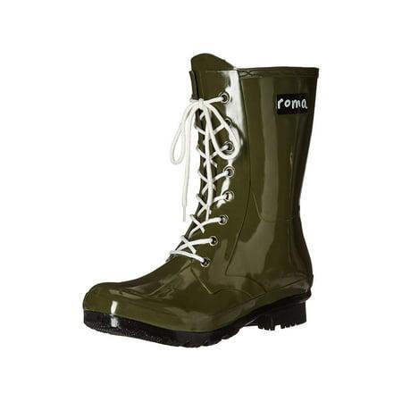 0c66ef711 Roma Boots Women's EPAGA Short Lace-up Rain Boots | Walmart Canada