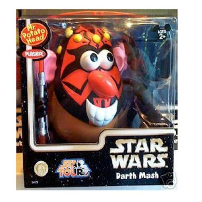 Disney Star Wars Darth Mash Mr. Potato Head Toy by
